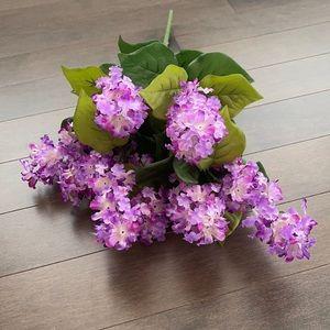 Faux Lilac Bouquet of Flowers